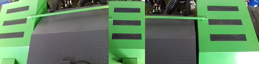 Применение противоскользящих лент на спец. технике