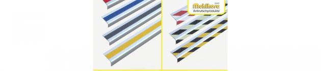 Алюминиевые профили с противоскользящей лентой