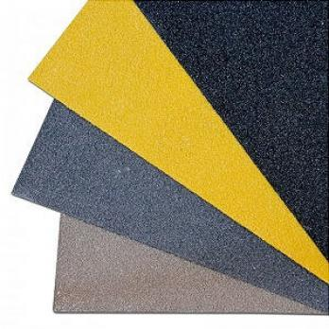 Противоскользящая пластина, среднее зерно 46 Grit, черный цвет