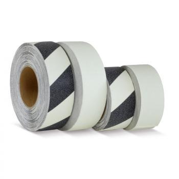 белый цвет, рулон, фотолюминисцентная противоскользящая лента