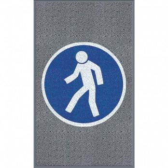 Для пешеходов, серый цвет, крупное зерно